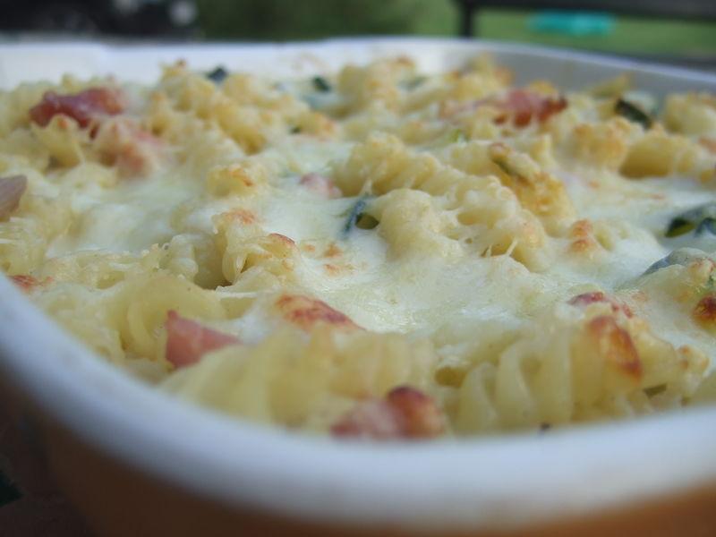 Gratin de courgettes p te et mozzarella au boeuf qui rit - Pate a la mozzarella ...